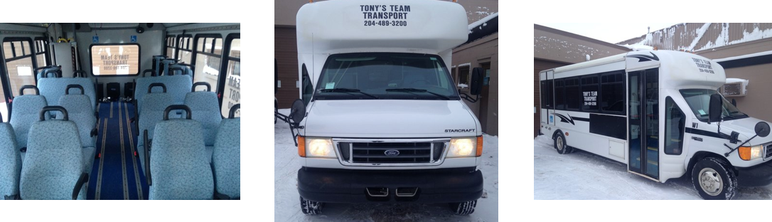 Tony's Team Transport Wheelchair Accessible Bus